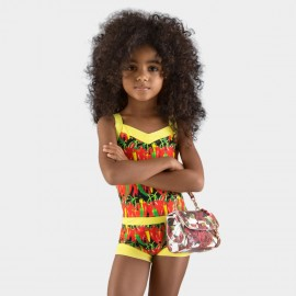 Balneaire Chilly Red Girl Yellow One Piece (260007)