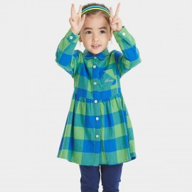 Bobdog Check Green Dress (B53SC303)
