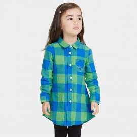 Bobdog Check Green Shirt (B53SC305)