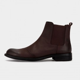 Herilios Chealsea Brown Boots (H5305G41)