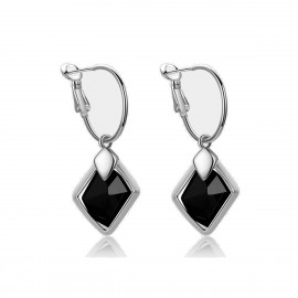 Caromay Dawn Short Silver Earrings (E0175-3)