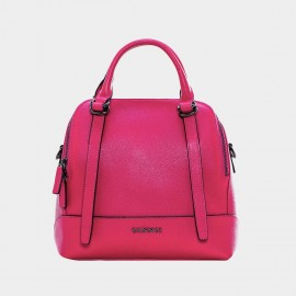 Cannci Long Strap Leather Rose Top Handle Bag (X11502)