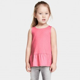 Yakuyiyi Little Dot Pink Top (50601T121)