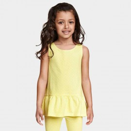 Yakuyiyi Little Dot Yellow Top (50601T121)