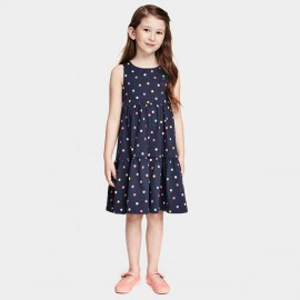 Yakuyiyi Little Light Bulb Navy Dress (50701T151)