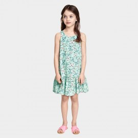 Yakuyiyi Butterfly Foral Green Dress (50701T157)