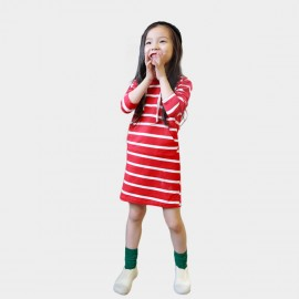 Yakuyiyi Lollipop Stripe Dress (50753T328)