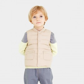 Pepevega Patch Pocket Apricot Gilet (A54SU905)