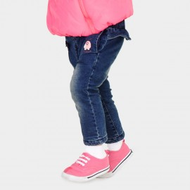 Pepevega Tiny Bow Washed Blue Jeans (A54ZK856)
