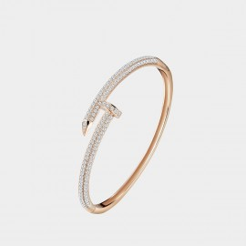 SEVENTY 6 The Nail Rose Gold Bracelet (3524)