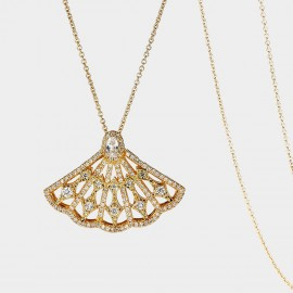 SEVENTY 6 Passion Gold Long Chain (7205)