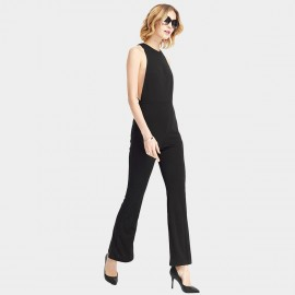 HaoYouDuo Sleeveless Black Jumpsuit (25304013)