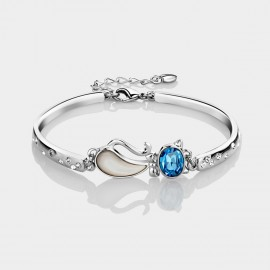 Caromay Quiet Kitty Blue Bracelet (S0509)