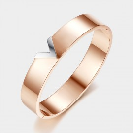 Caromay V On Trend Rose Gold Bracelet (H0192)