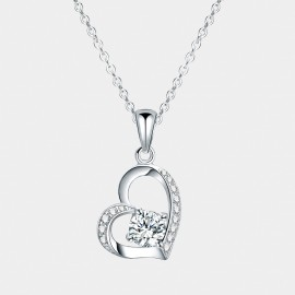 Seventy 6 Free Your Heart White Necklace (12083)