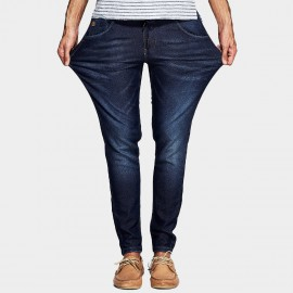 Kuegou Signature Pocket Navy Jeans (KK-2371)