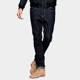 Kuegou Regular Selvedge Black Jeans (KK-2372)