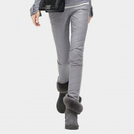 Cocobella Skinny Fit Quilted Grey Pants (PT260)