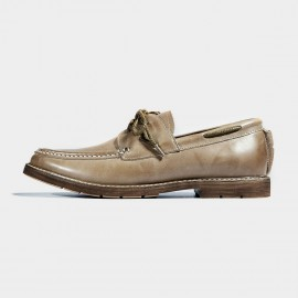 Herilios Casual Driving Brown Lace-Up (H7105D70)