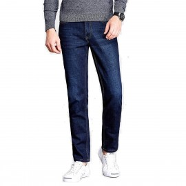 Qzhihe Regular Fit Blue Jeans (HMN7736)