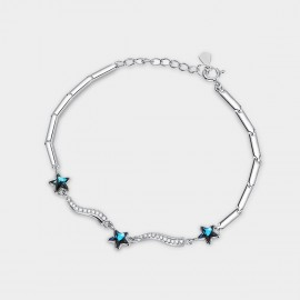 SEVENTY 6 Night Meteors Blue Bracelet (3862)