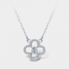 SEVENTY 6 Snow Willow White Necklace (12244)