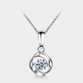 SEVENTY 6 Magical Clouds White Necklace (12245)