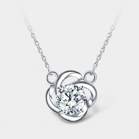 SEVENTY 6 An Isolated Lotus White Necklace (12287)