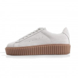 Superelephant Comfortable White Sneakers (1986-6)