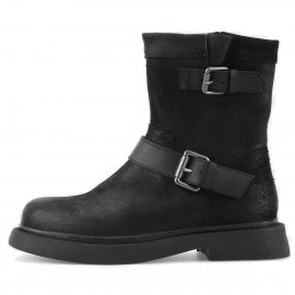 Superelephant Reckless Black Boots (W431-11)