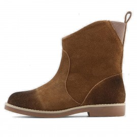 Supeerelephant Natural Brown Boots (ZF1881)
