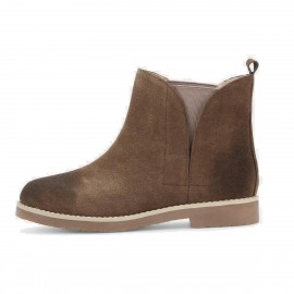 Superelephant Gradient Brown Boots (ZF2687)