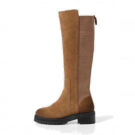 Superelephant Riding Brown Boots (ZF2699L)