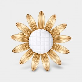 Seventy 6 Mini Sunflower Gold Brooch (5925)