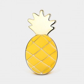 Seventy 6 Pineapple Pie Yellow Brooch (5929)