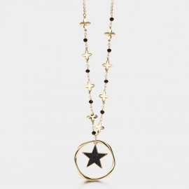 Seventy 6 The Space Gold Long Chain (7577)