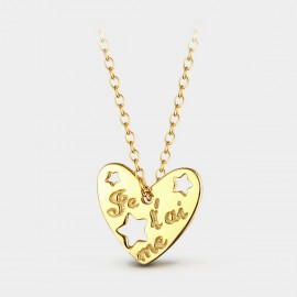 Seventy 6 Vanity Gold Necklace (12370)