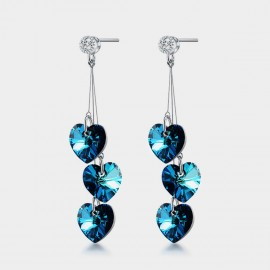 Seventy 6 Ocean Wisdom Blue Earrings (20224)