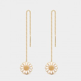 Seventy 6 Blooming Daisy Gold Earrings (20310)