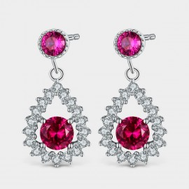Seventy 6 Legendary Age Red Earrings (81010)