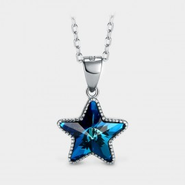 Seventy 6 Sea Star Blue Necklace (B2544)