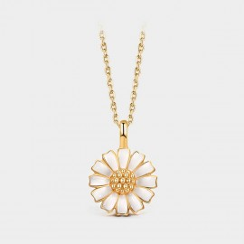 Seventy 6 Sunny Daisy Gold Necklace (B2558)