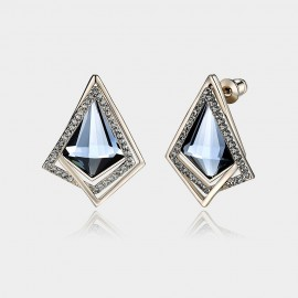 Caromay Bright Prism Gold Earrings (E2527)