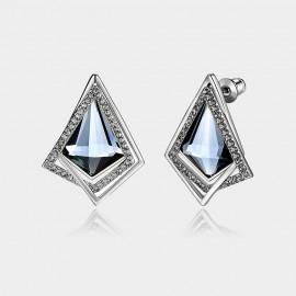 Caromay Bright Prism Silver Earrings (E2527)
