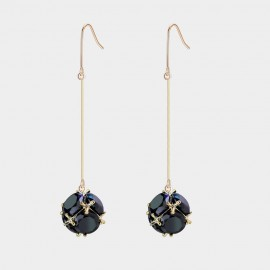 Caromay Aerolite Champagne Gold Earrings (E2548)