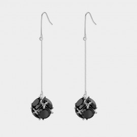 Caromay Aerolite Silver Earrings (E2548)
