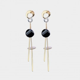 Caromay Magical Stage Champagne Gold Earrings (E2462)