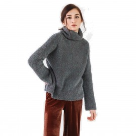 Cocobella Turtleneck Grey Knit (YN484)