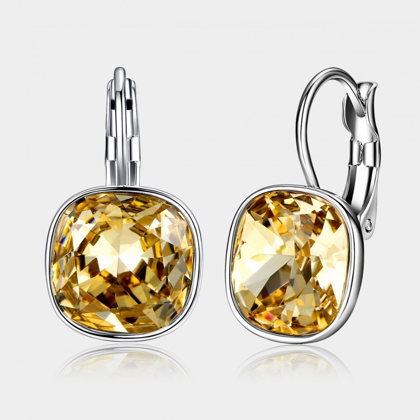 Caromay Shiny Life Champagne Gold Earrings (E0331)
