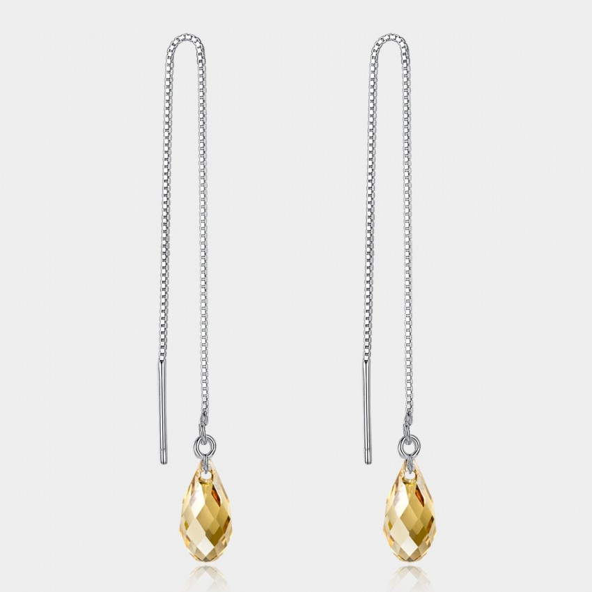 Caromay Discovered Talent Champagne Gold Earrings (E0500)